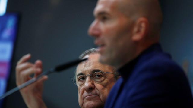 Ingleses avançam com a razão que levou Zidane a sair do Real Madrid