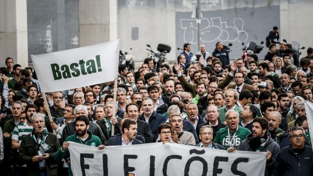 Sporting a ferro e fogo: Manifestações, rescisões e providências