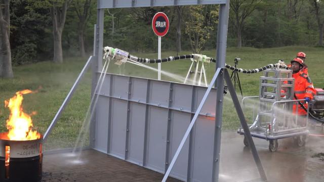 Este robot ajudará a combater incêndios de uma forma mais segura