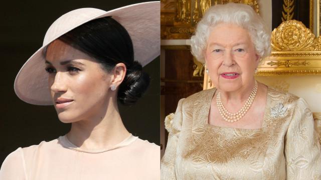 Meghan Markle irá acompanhar Isabel II em compromissos oficiais