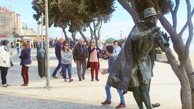 Encontro Internacional de Estátuas Vivas em Espinho reúne 40 artistas