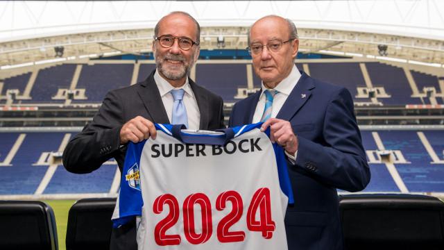 Super Bock renova com o FC Porto até 2024. Parceria vai fazer 30 anos