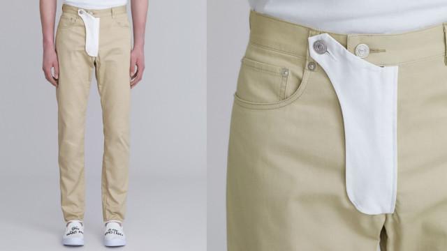 Depois das jeans tanga, chegam as calças com bolso para o pénis