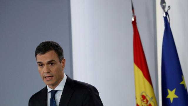 Pedro Sánchez e António Costa reúnem-se na segunda-feira em Lisboa