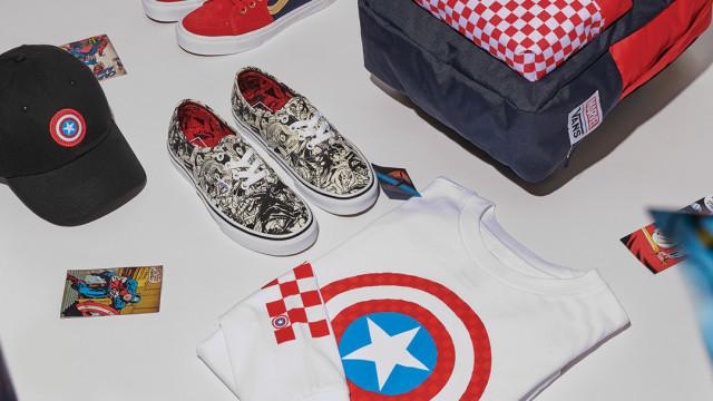 Vans x Marvel: A heróica coleção chega às lojas esta sexta feira