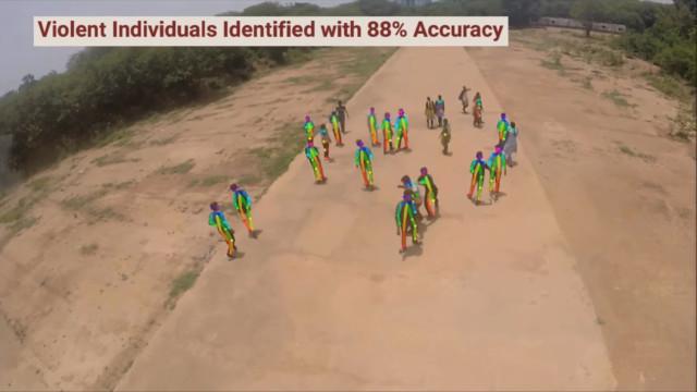 Drones usarão IA para detetar comportamento violento