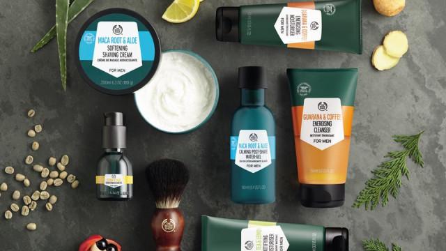 The Body Shop lança primeira linha completa para homem