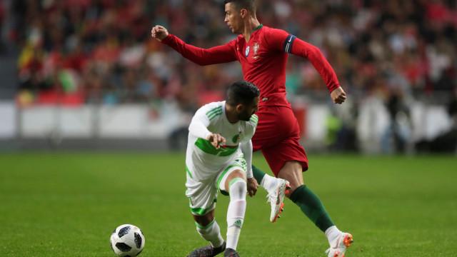 [3-0] Portugal-Argélia: Ronaldo substituído por André Silva