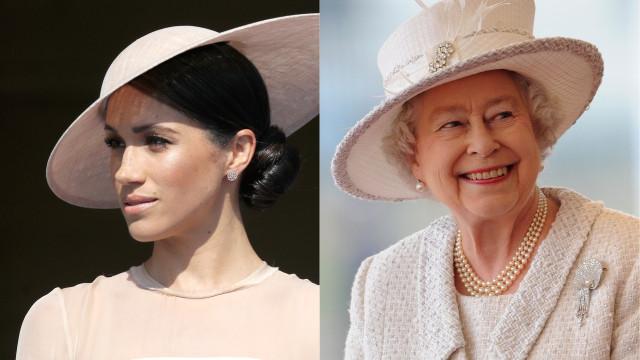Meghan Markle e rainha deverão passar noite juntas em comboio real