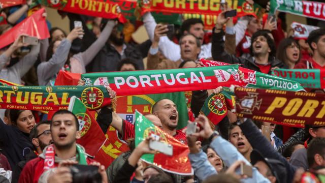Berço lotado para o embate entre Portugal e a Polónia