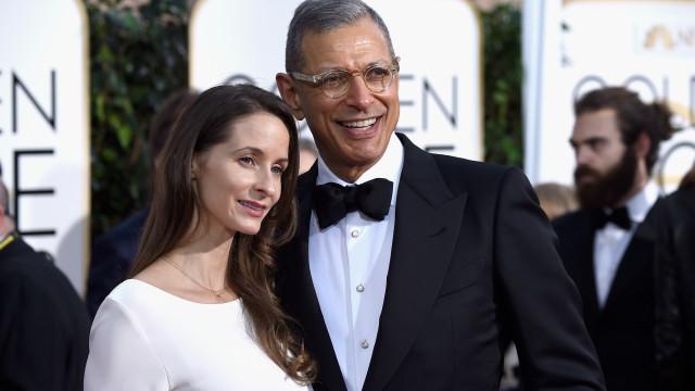 Antes de subirem ao altar, Jeff Goldblum e mulher fizeram terapia