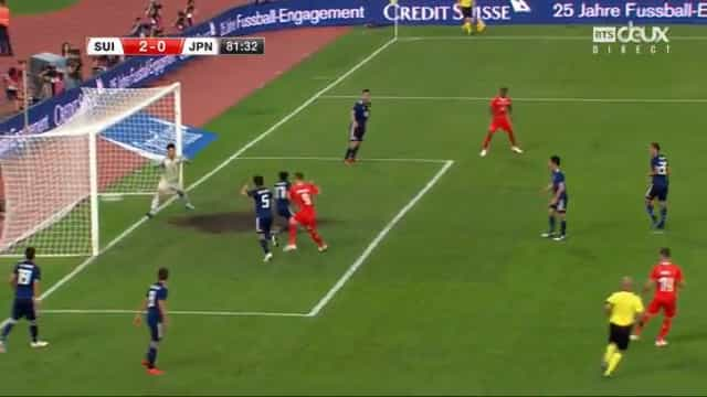 Seferovic com o pé quente em vésperas de Mundial
