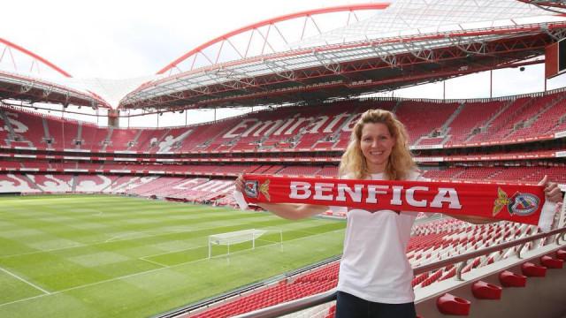 Tita: Do centro de fisioterapia para o sonho no Benfica