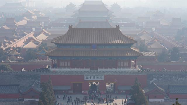 Cidade Proibida de Pequim abriu ao público os estúdios de restauro
