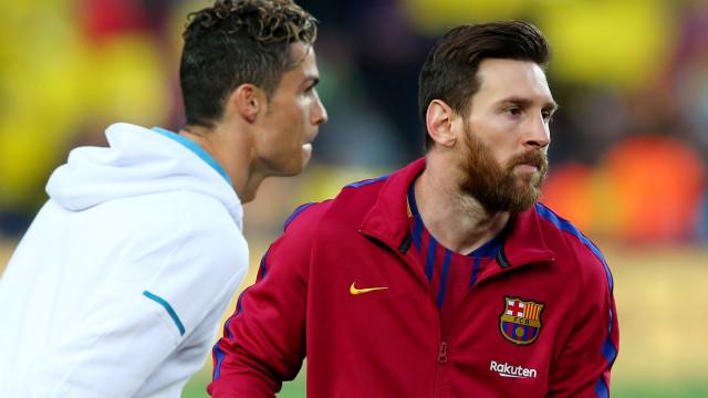 Os 12 jogadores que já jogaram ao lado de Messi e Ronaldo