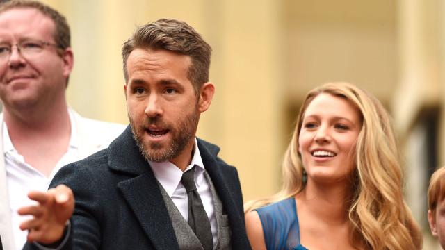 Ryan Reynolds brinca e diz que a mulher já o traiu... com fantasmas