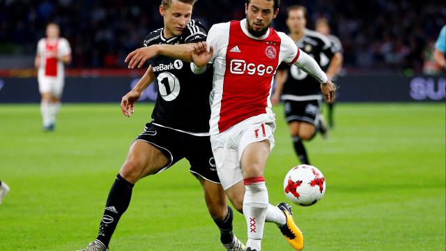 Benfica terá avançado com proposta por médio do Ajax