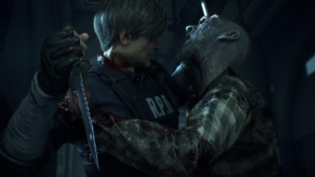 'Resident Evil 2' está de volta e nunca teve tão bom aspeto