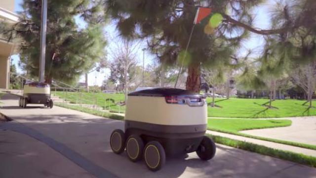 Robots que entregam comida alvo de 'bullying'
