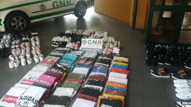 Apreendidas 1.200 peças de roupa contrafeita na Trofa