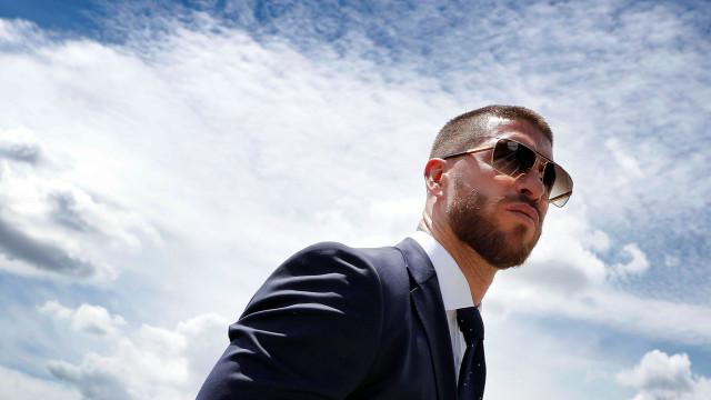 Sergio Ramos volta a dar que falar com visual 'insólito'