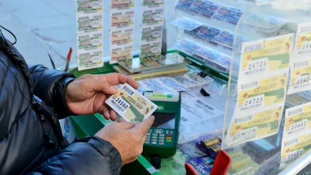 Roubou 31 pacotes de bilhetes de lotaria mas não teve sorte