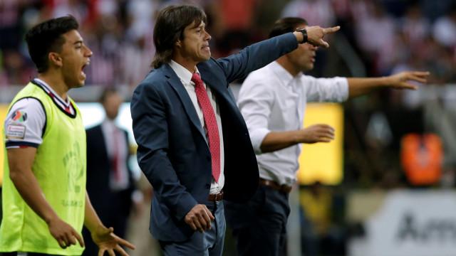 Bruno de Carvalho e Matías Almeyda em negociações avançadas