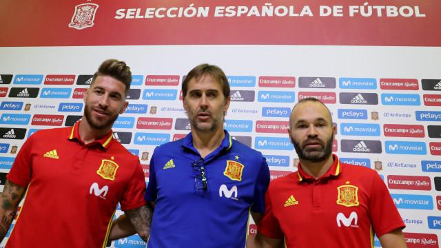 Lopetegui está de saída da seleção espanhola e Sergio Ramos já reagiu