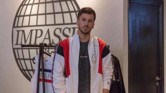 David Carreira associa-se à marca Ninety One Paris