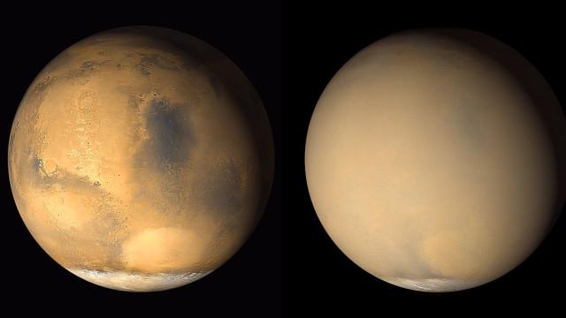 Rover da NASA deixa de responder depois de tempestade em Marte
