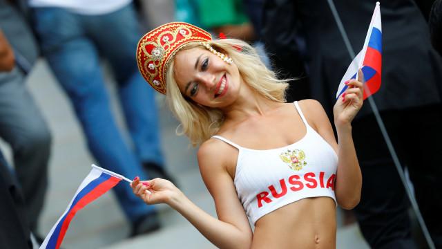 Eis o lado mais... bonito do 1.º jogo do Mundial da Rússia