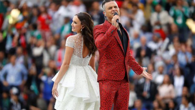 Confira os melhores momentos da cerimónia de abertura do Mundial