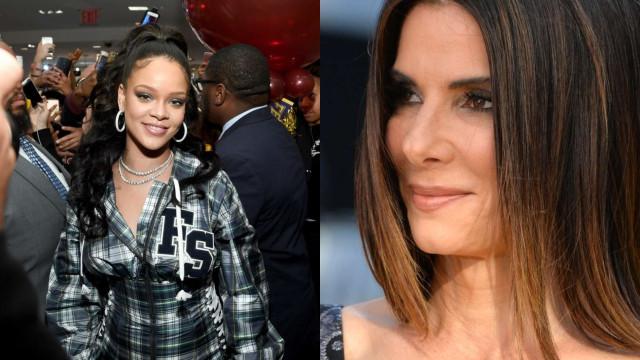 Sandra Bullock irritada com atrasos de Rihanna em apresentações de filme