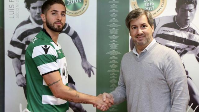 Sporting anuncia reforço para os sub-23