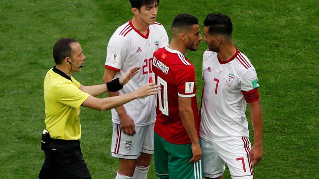 Atenção, Portugal: Irão de Queiroz vence Marrocos com golo caído do céu