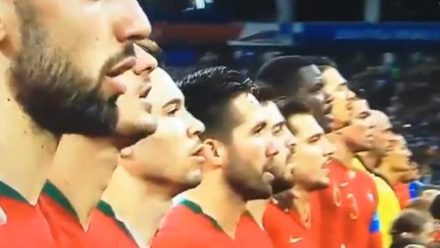 'A Portuguesa' tocou em Sochi e o momento foi arrepiante