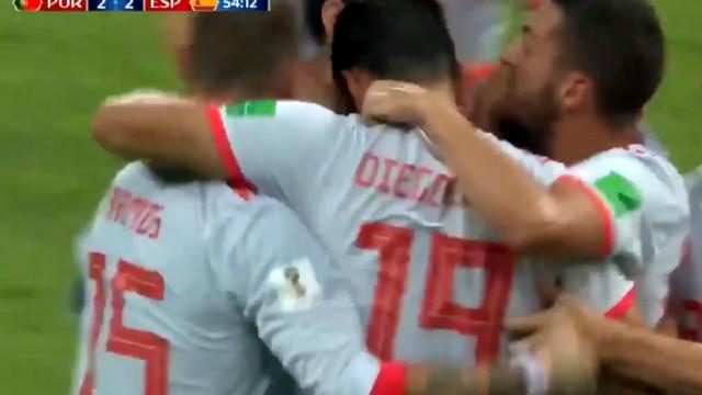 Diego Costa imita Ronaldo e bisa frente a Portugal