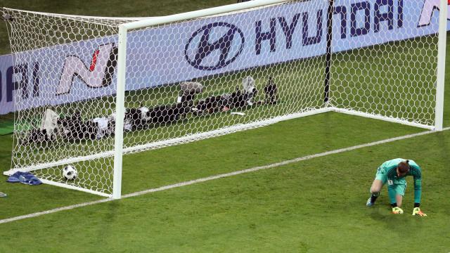 """Herrera defende De Gea: """"É o melhor guarda-redes do mundo, de longe"""""""