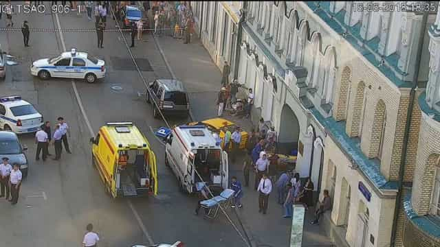 Táxi atropela adeptos do Mundial em Moscovo. Há pelo menos sete feridos