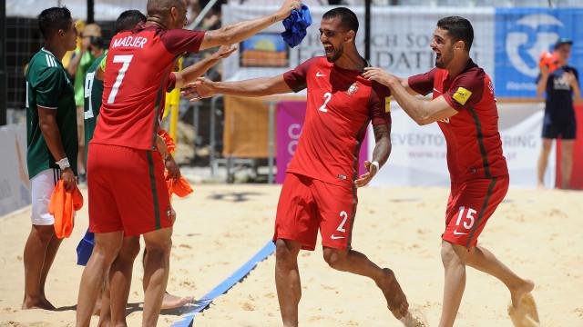 Portugal vence Japão e está na final do Mundialito