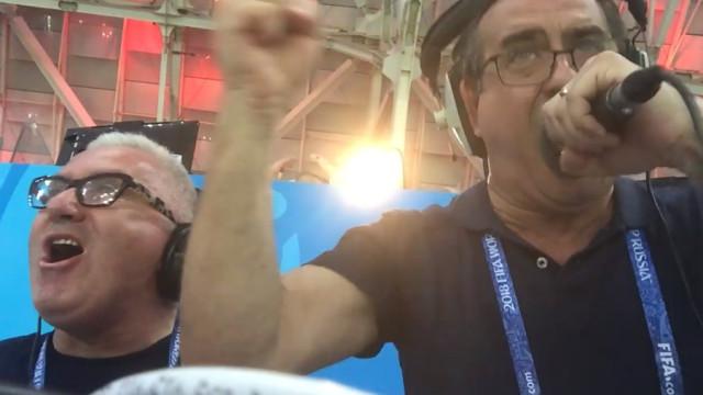O golo de CR7 que levou o jornalista Nuno Matos (novamente) à loucura