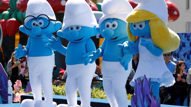 Os Smurfs fizeram 60 anos e na Bélgica houve aldeia azul para visitar