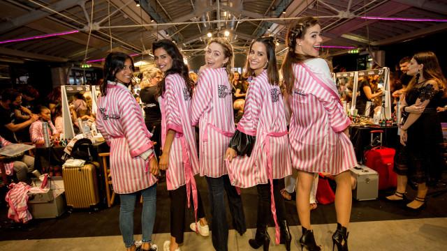 Figuras públicas reúnem-se para noite de moda... dedicada ao cabelo