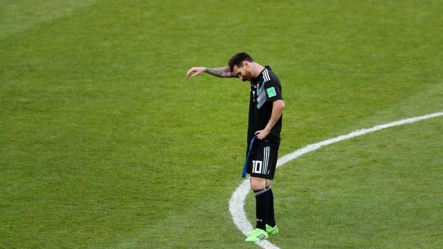 """""""Não sinto pena de Messi. Devia ter vergonha"""""""