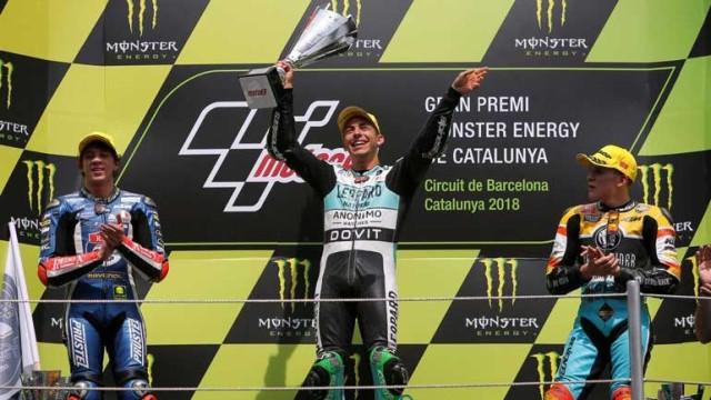 Enea Bastianini vence GP da Catalunha em Moto 3