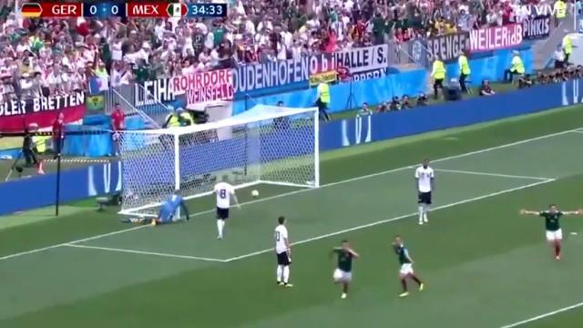 Alemanha entra a perder no Mundial com este belo golo de Lozano