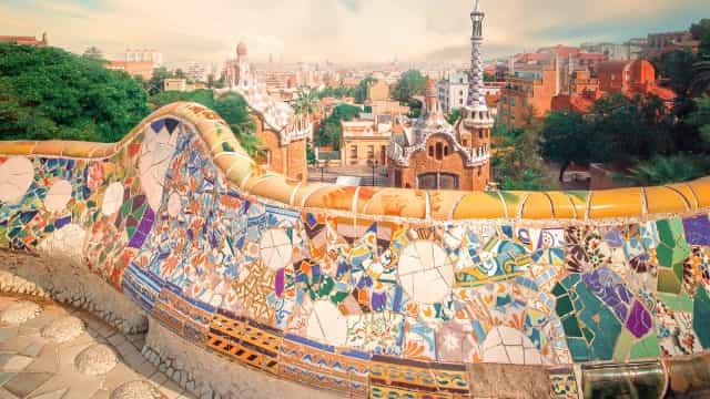De Gaudí a Picasso...