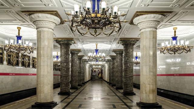 As mais belas estações de metro do mundo