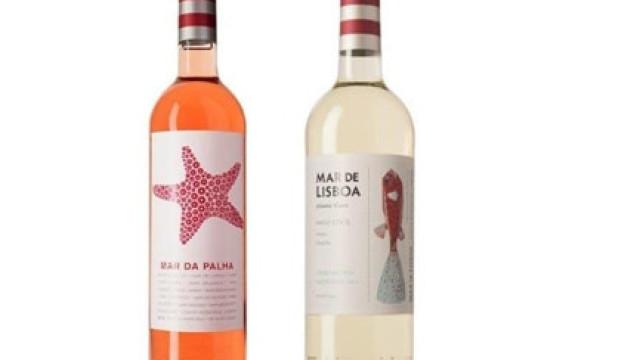 Sol e maresia inspiram vinhos Mar da Palha Rosé e Mar de Lisboa Branco