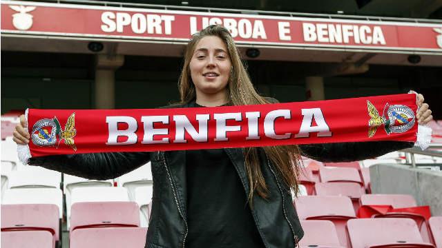 Carolina Vilão é reforço do Benfica